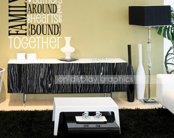 Family Are Bound Together Wall Decal