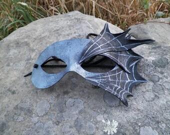 Cobweb Leather mask