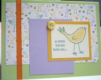 Birdie Birthday card     (C4)