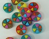 24 Trivial Pursuit Game Makers Movers Tokens Crafts