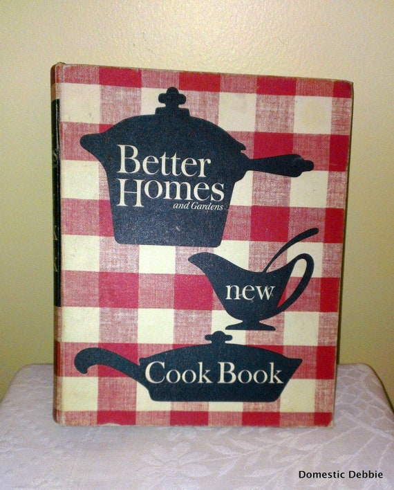 Better Homes And Gardens New Cookbook 1962 2nd Edition