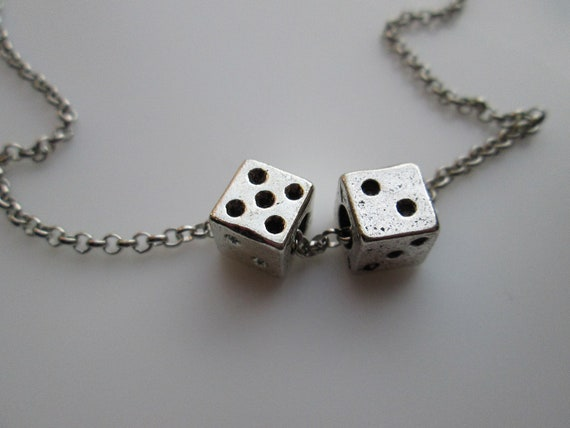 probability of rolling 3 dices pendants necklaces