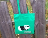 Green KARL NAGERFELD Tote Bag with long straps
