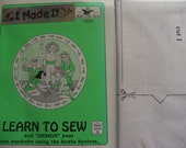 Pattern Learn to sew,design your own wardrobe, Kids can sew by Carolyn Curtis.