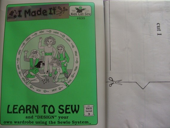 Pattern Learn to Sew,design