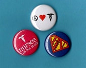 NURSES buttons u pick any 6