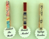 Fancy Clothespins Magnets Three Sets of 6