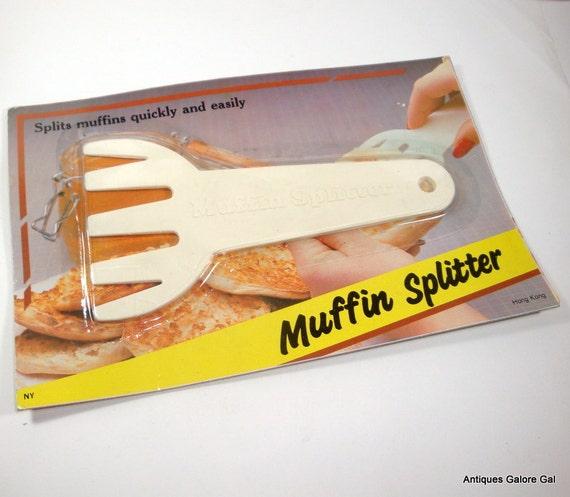Vintage Muffin Splitter Kitchen Utensil By Antiquesgaloregal