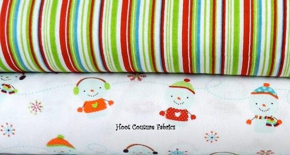 Colorful Christmas Half Yard Bundle from Riley Blake Fabrics - clearance sale