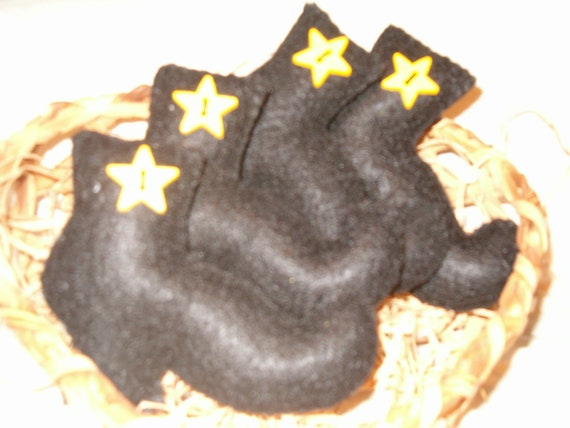 Prim Witch Boot Ornies, Bowl Fillers