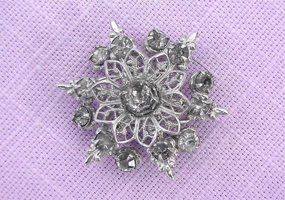 Vintage Crystal Pin