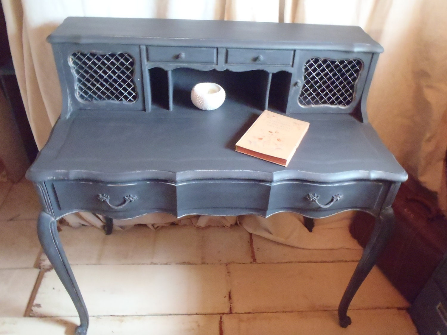 Madame Josephines Vintage French Provincial Writing Desk
