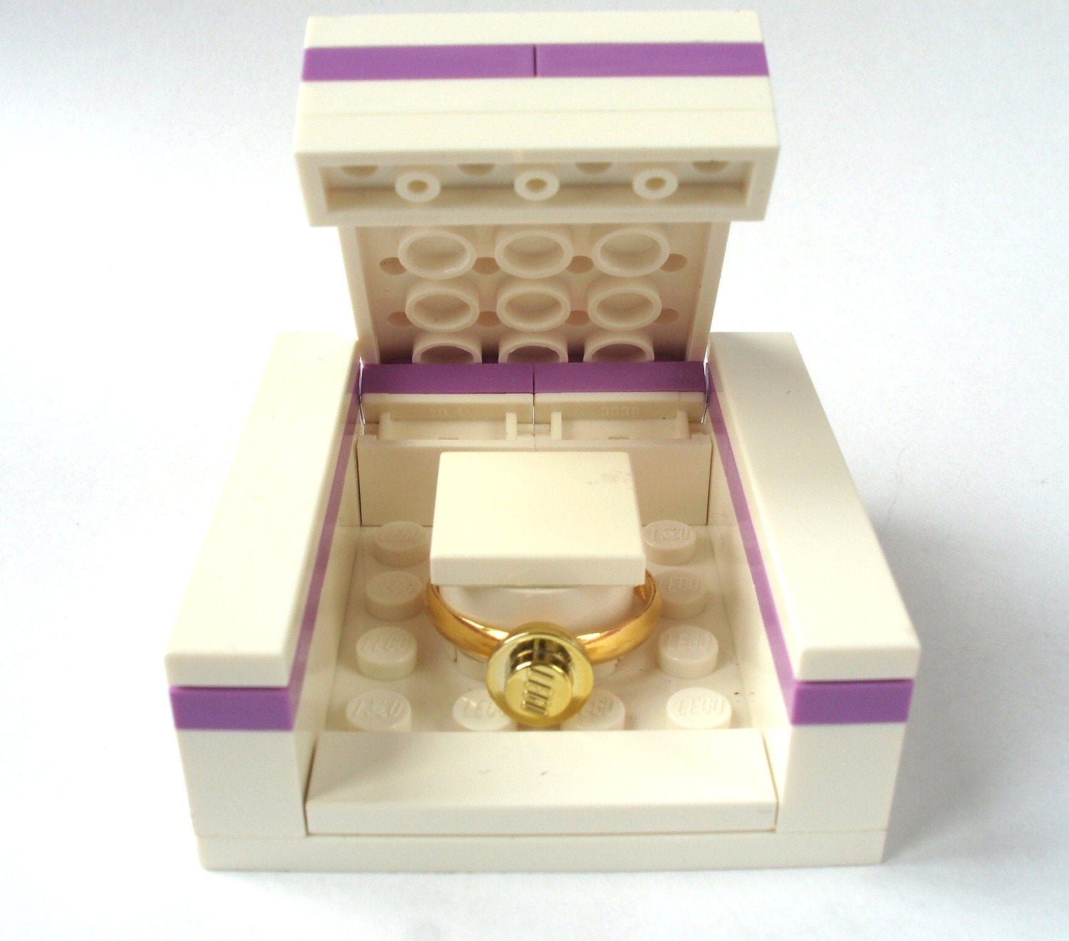 Wedding Ring Box Engagement ring box Handmade by bitsandbadges