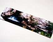 SALE - A Thoughtful Place Waterfall Cave Photo Bookmark
