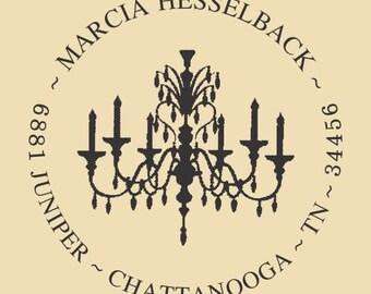 Marcia Hesselback Custom Traditional Rubber Stamp Design R038