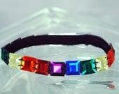 Rainbow Cat Collar