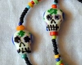 Day of the Dead Lanyard