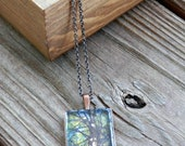 Photo Pendant Necklace - Forest