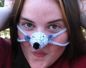 Quiet Little Mouse Nose Warmer, Tween, Teen, Adult, Nose Cozy, Stocking Stuffer, Fun Gift, Frozen Nose, Winter Outdoors Nose Cover,