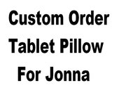 Custom Order For Jonna