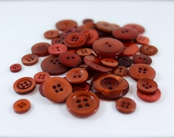 50 Copper Kettle Buttons-Buy 3, Get 1 FREE
