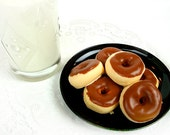 Half Dozen - Chocolate Frosted - Mini Donut Soap 6-pack