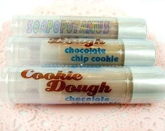 Cookie Dough - chocolate chip cookie dough - Shea Lip Butter