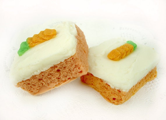 SECONDS SALE 50% OFF - Carrot Cake - Goat's Milk Soap Bar