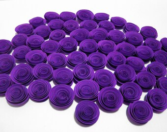 Spiral Paper Roses - Set of 100 in Your Custom Colors