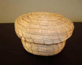 Sale...Sweet pine needle basket