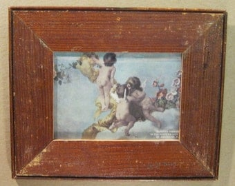 SHABBY Architectural Salvaged Recycled Wood Photo Picture Frame 5x7 S694-12