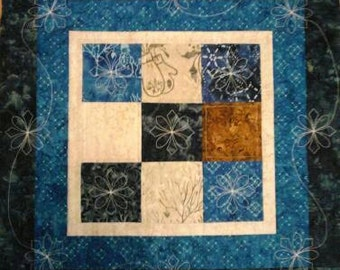 Snow Days Winter Table Quilt