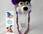 University of Washington Husky Earflap Beanie - Made to order - any colors - any sizes