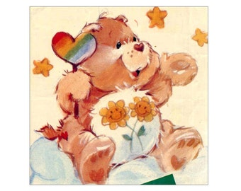 Popular Items For Vintage Care Bears On Etsy