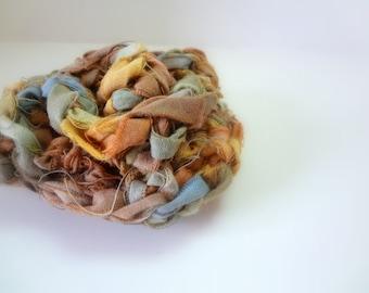 Seamist Cotton Flower Pin