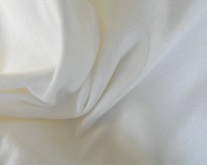 1 Yard Each SOFT Washable Ultrasuede Fabric White and Off White Slipcover Apparel