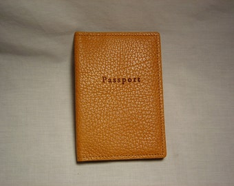 American Bison passport case