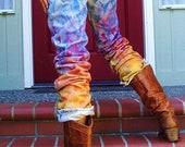 Hollye's Rainbow Jeans