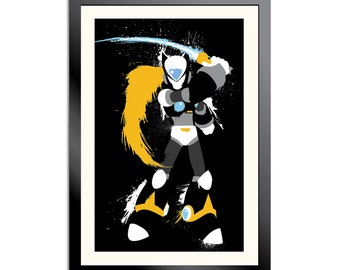 Copy Zero Splatter Art Poster