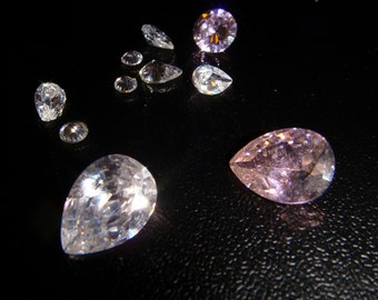 Vintage Lot of 10 Gemstones Gemstone Gem Precious Stones