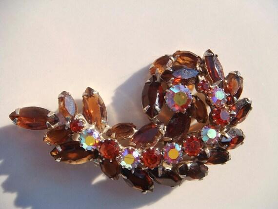 Vintage Delizza & Elster Juliana Brooch D E Jewelry