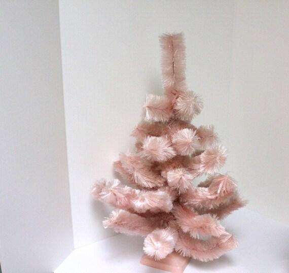 Thread Christmas Tree: Vintage Kirk Pink Christmas Tree Perma Color Floss In Box