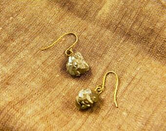 Simply Pyrite Earrings