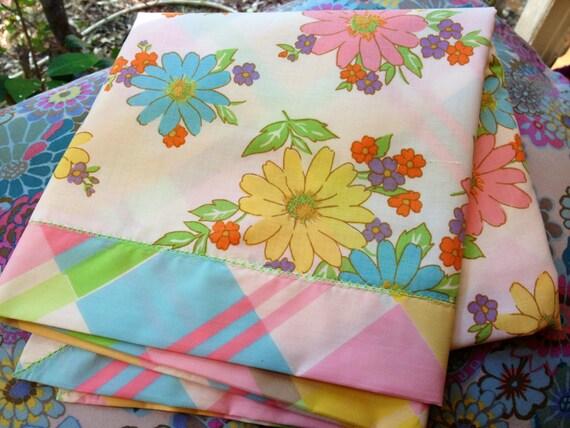 Vintage Daisy Baby Blanket