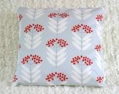 Pale Blue Elderberry Throw Cushion Cover Pillow Sham