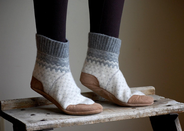 Women Slipper Socks Wool House Slippers women size 8 wide