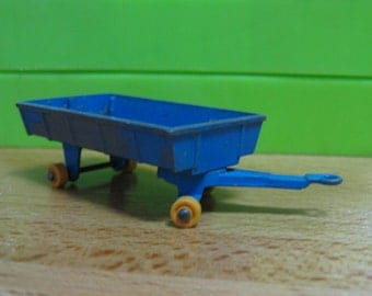 Vintage Matchbox Series 40 Blue Hay Trailer Lesney England