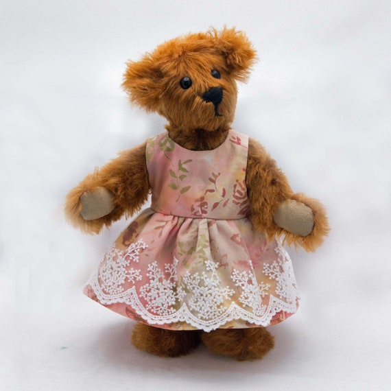 Hand Made Mohair Teddy Bear