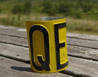 License Plate cuff - QE 2