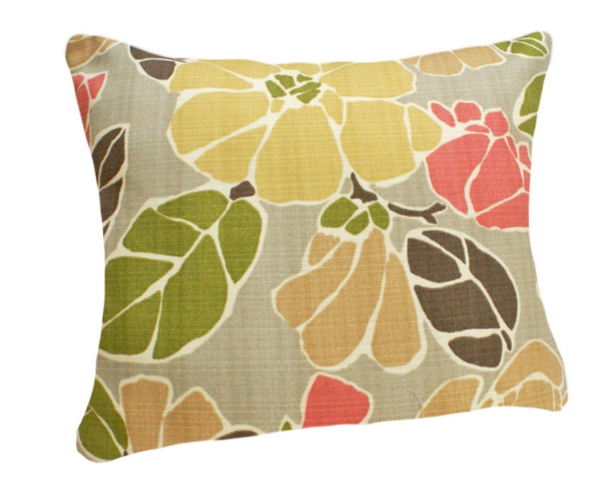 Modern Floral Pillows : Unavailable Listing on Etsy